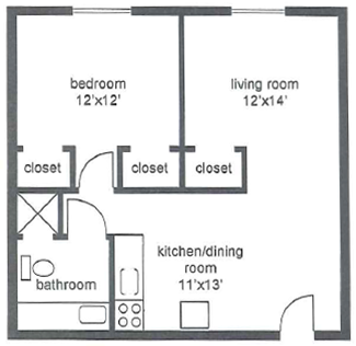 Millersville Two Bedroom Apartment
