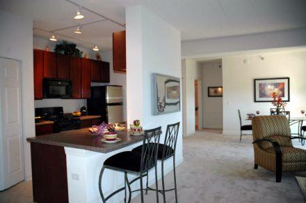 301 Riverwalk Place living space